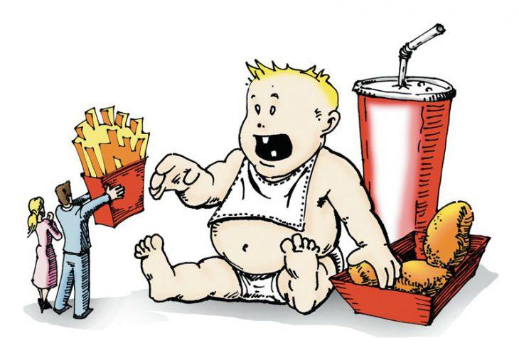 Ожирение и дети